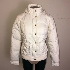Juicy Couture Hooded Down Puffer Jacket